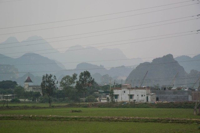 Karst Mountains near Vinh Binh