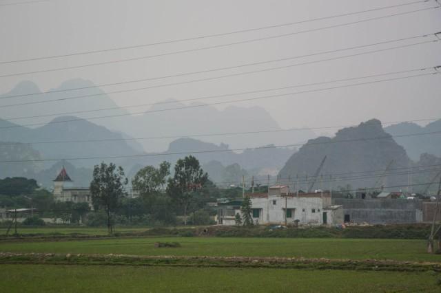 Karst Mountains near Vinh Binh