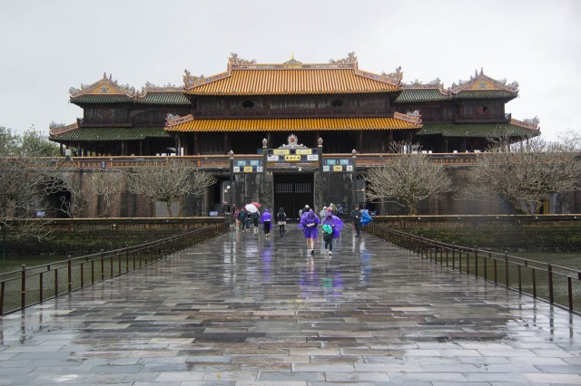 Hue Citadel - Ngo Mon Gate