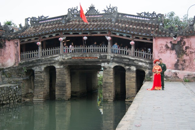 Japanese Covered Bridge - Hoi  An