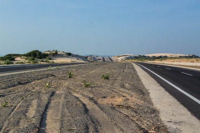 New, Empty Road