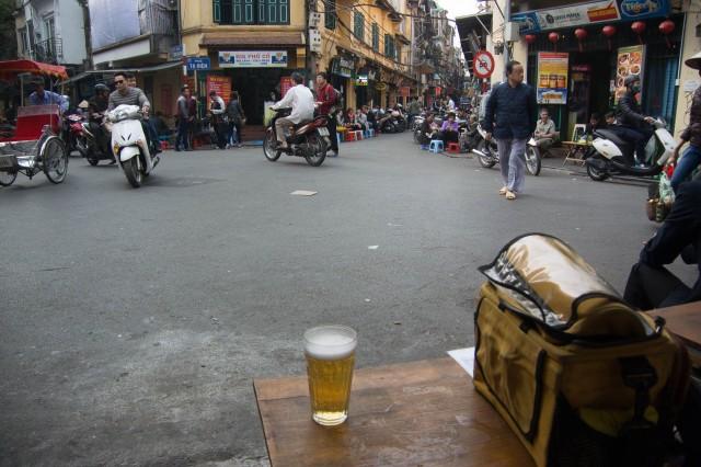Drinking Bia Hoi