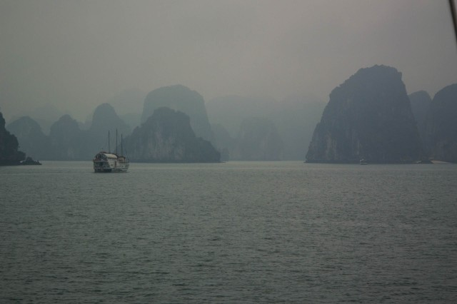 Early Mist on Halong Bay